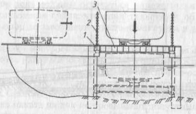 Вертикальный судоподъемник