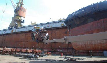Формирование корпуса судна на построечном месте