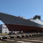Корпусодостроечные работы судна