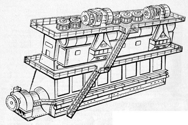 Главный судовой двигатель
