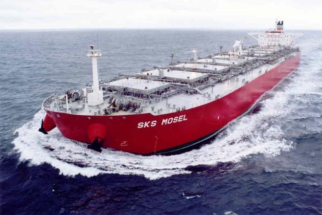 Нефтенавалочник-рудовоз