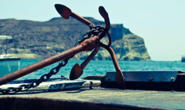 Стоянка судна на якоре