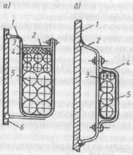 Схемы крепления кабелей на переборке