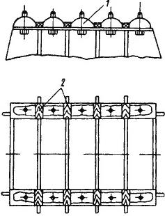 Укладка пластмассы БКД на судовой фундамент