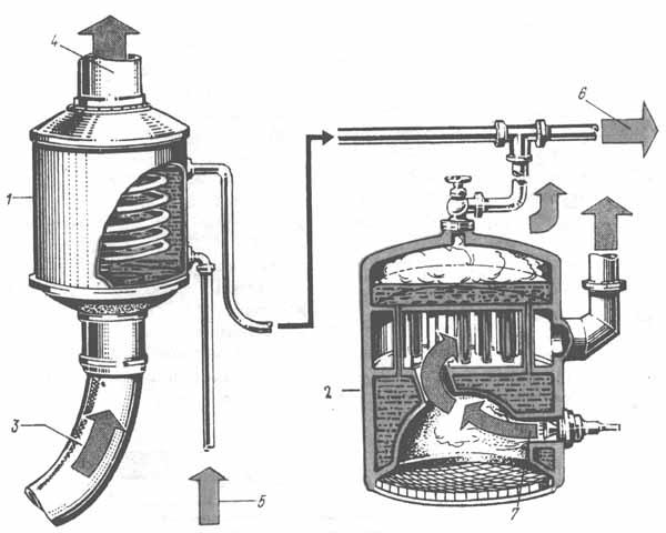 Вспомогательная парогенераторная установка в дизельной энергетической установке