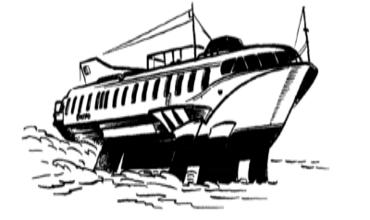 Суда на подводных крыльях и на воздушной подушке