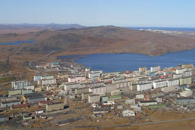 Арктический морской порт Тикси