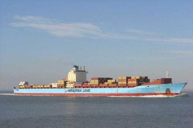 Контейнеровоз MAERSK BROOKLYN