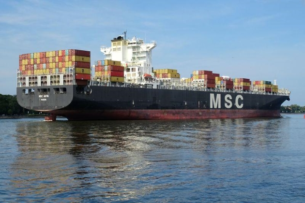 Контейнеровоз MSC Asya
