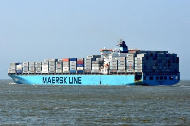 Контейнеровоз Maersk Kampala