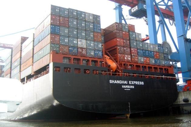 Контейнеровоз Shanghai Express