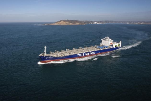 Контейнеровоз Tote Maritime