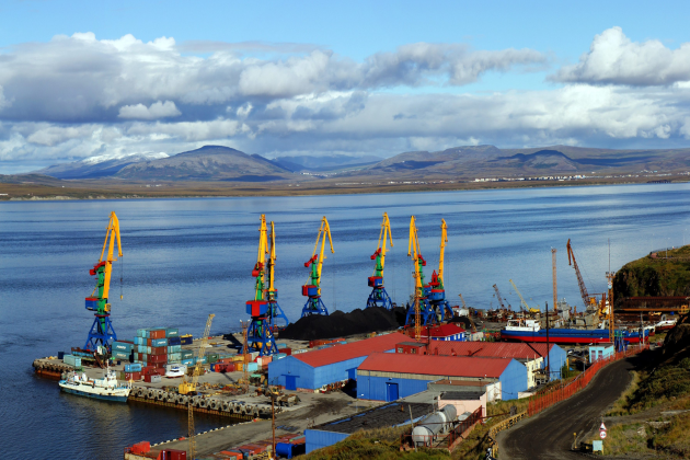 Морской порт Анадырь