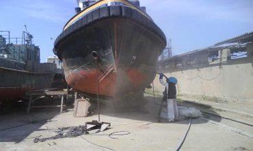 Конструкция корпуса морских стальных судов