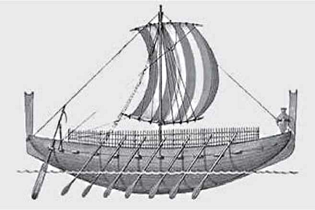 Финикийское судно
