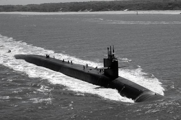 Американская подводная лодка