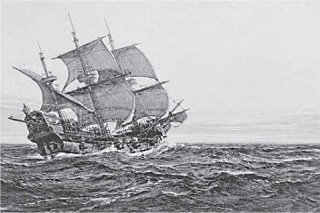 Корабль Фрэнсиса Дрейка