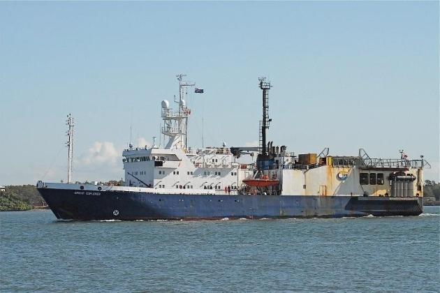 Сейсморазведочное судно
