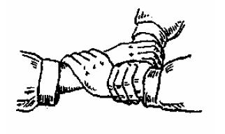 Сиденье из трех рук