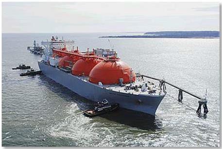 Liquefied gas tanker