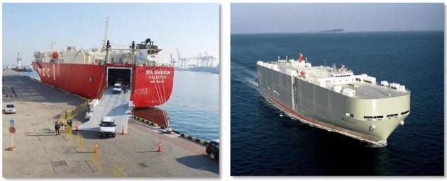 Rolker Ro-Ro ship