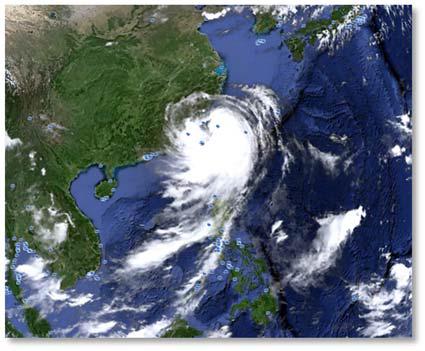 Вид циклона