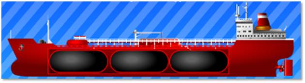 Схема газовоза