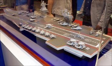 Каким будет новый Российский авианосец «Шторм»