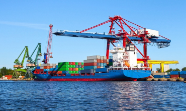 Как происходит грузооборот морских портов