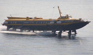Виды парящих судов на подводных крыльях