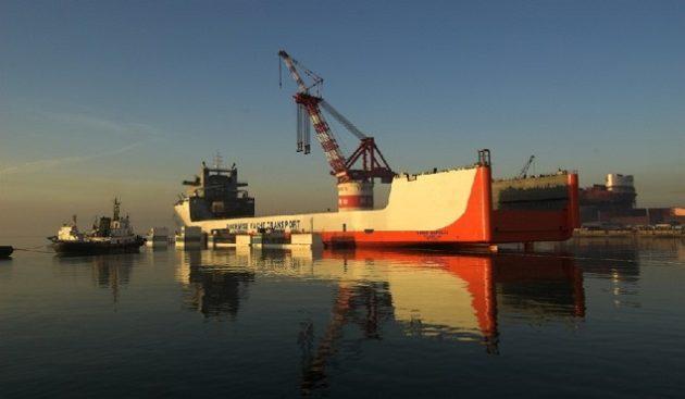 Dockwise Yacht Tranport