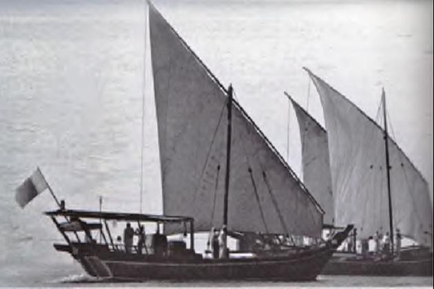 Багала в восточной части Персидского залива. 1936 г.