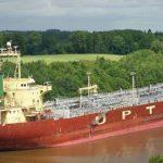 Маневрирование судна в узкостях