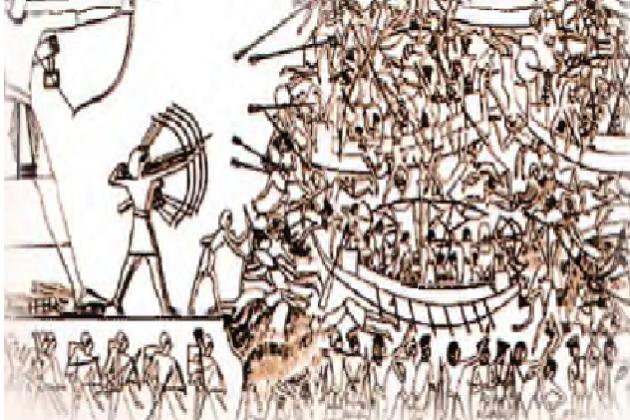 Возможное сражение с народами моря