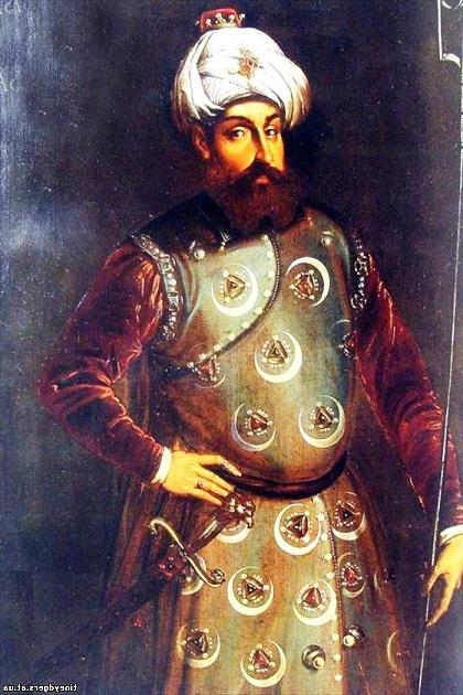 Хайр-ад-Дин Барбаросса. Портрет работы неизвестного художника. XVI в.