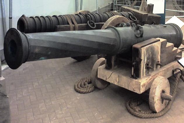 Бронзовые корабельные кулеврины XVI в.