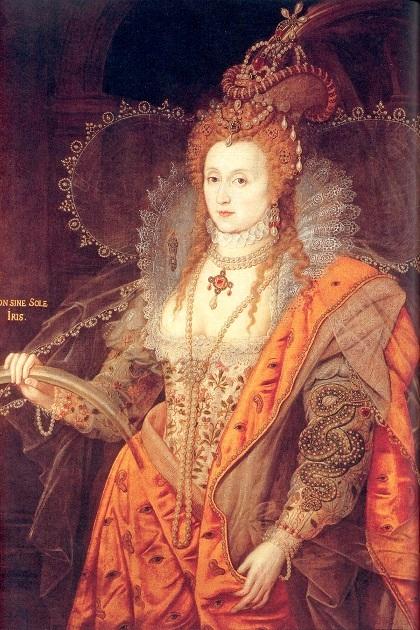 Королева Англии Елизавета I Тюдор после разгрома Непобедимой армады