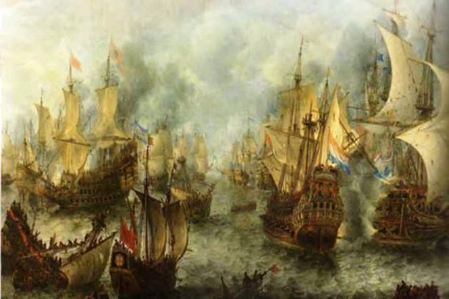 Сражение при Схевенингене - финальное сражение первой англо-голландской войны, произошедшее 10 августа 1653 г.