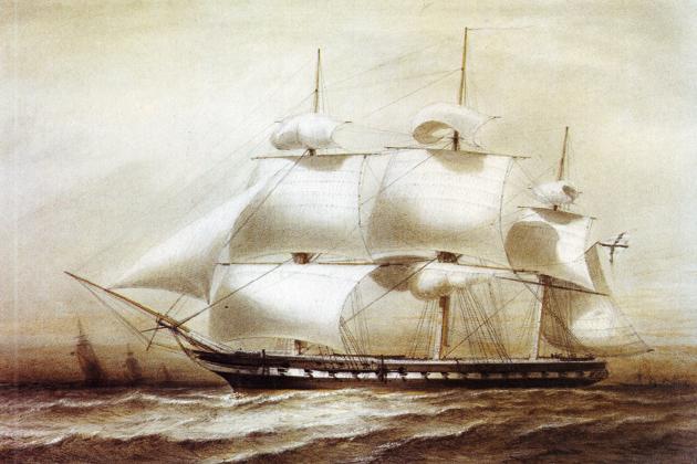 52-пушечный фрегат «Паллада»