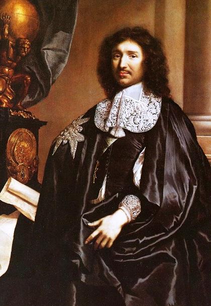 Знаменитый французский государственный деятель, первый морской министр Франции и фактический создатель военно-морского флота страны Жан Батист Кольбер (1619-1683 гг.)