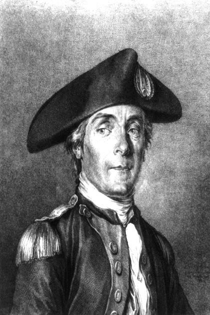 Отец военно-морских сил США Джон Поль Джонс. 1780 г.