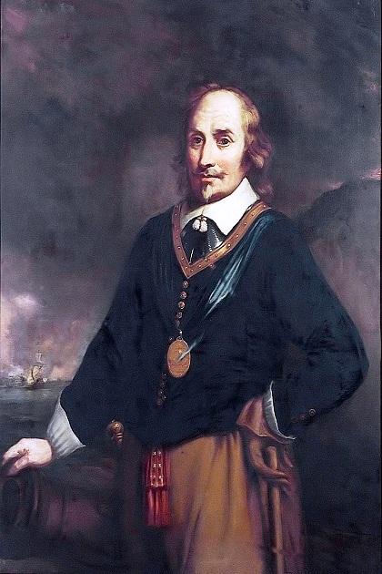 Выдающийся голландский адмирал Мартин Харпертсон Тромп (1598-1653)