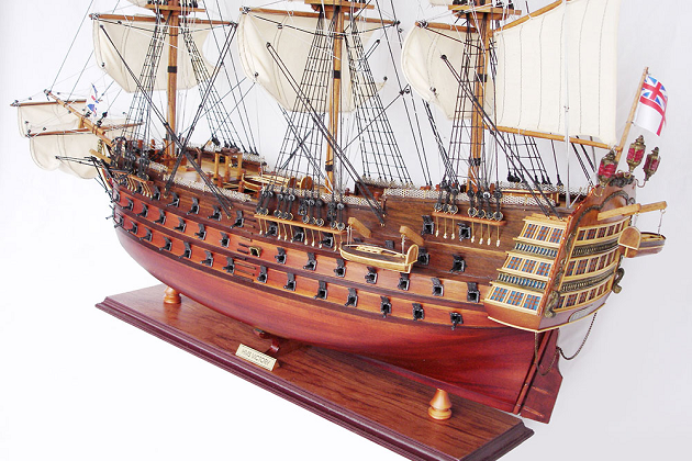 Модель корабля «Виктори» 1765 г. построенный Томасом Слейдом