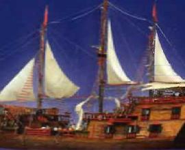 Ноа. Каравелла — самый знаменитый парусный тип кораблей