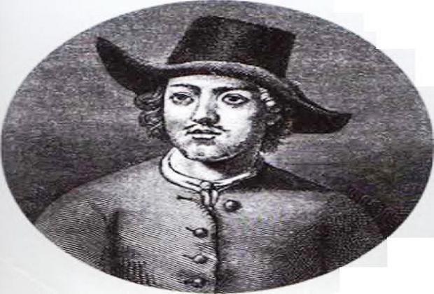 Пётр I в костюме голландского кораблестроителя в 1697-1698 гг.