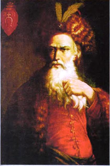 Портрет гетмана Петра Конашевича Сагайдачного. Неизвестный автор. XIX в.
