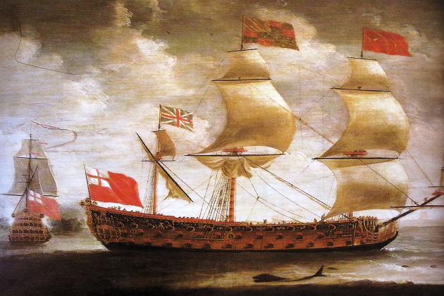 Английский корабль «Принц Ройял» 1610 г. постройки