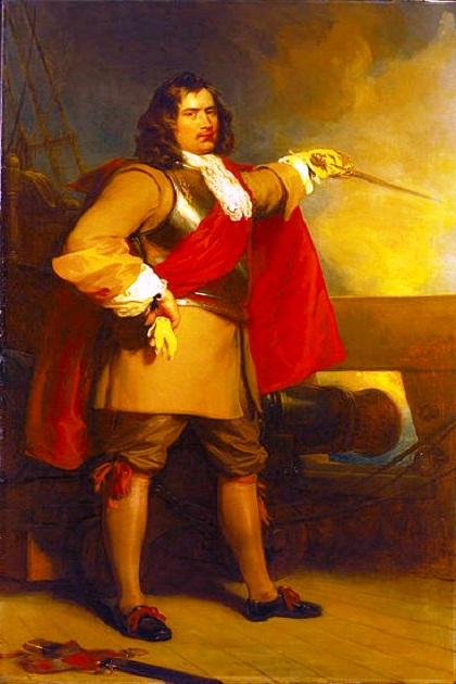 Английский генерал моря (адмирал) Роберт Блейк (1599-1653 (по другим данным — 1657))