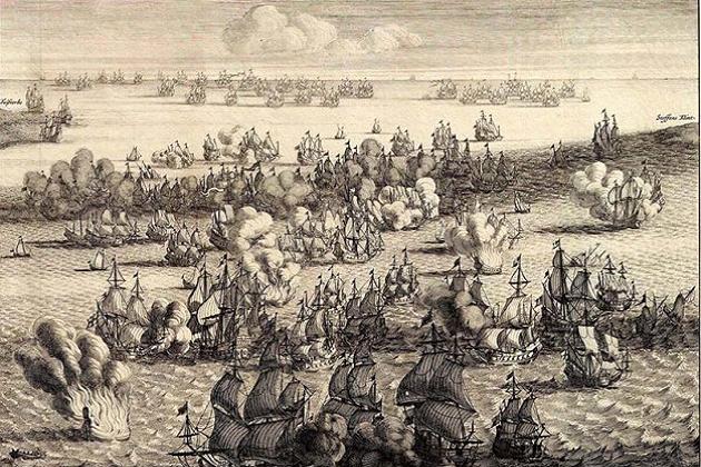 Морское сражение у бухты Кёге в 1677 году