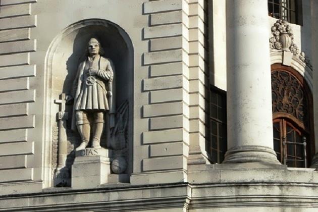 Статуя Бартоломео Диаша в Лондоне